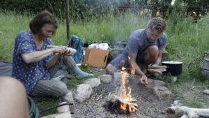 Outdoor Wald Wochenende Fragen